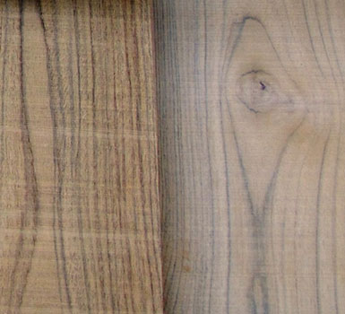 Working with Teak:  Sealers and Finishes