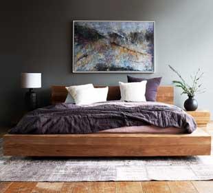 teak furniture bed frame