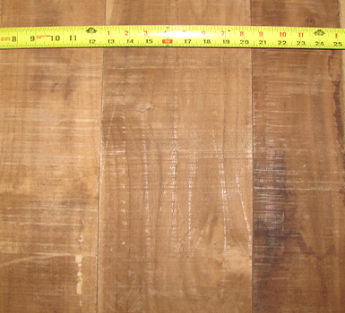 100% heartwood teak boards