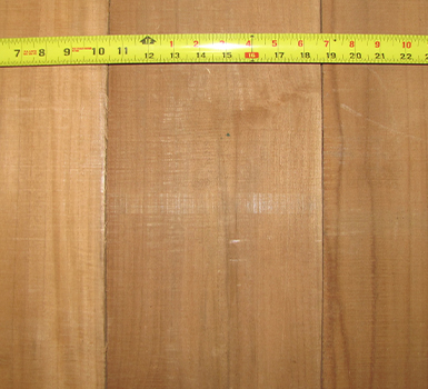 Sample of FEQ G1S teak boards